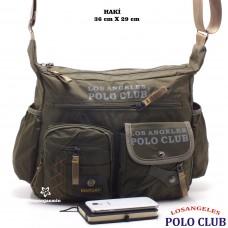 Los Angeles Polo Club  Erkek Postacı Çanta -8519-