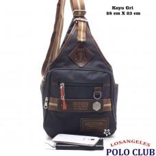 Los Angeles Polo Club Erkek Tek Askılı Sırt Çantası-8813-