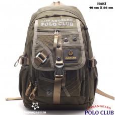 Los Angeles Polo Club  Erkek Sırt Çantası -9549-