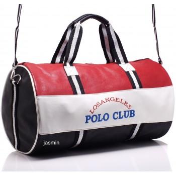 Los Angeles Polo Club Spor Çantası Silindir.