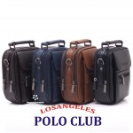 Los Angeles Polo Club Çelik Kasalı Erkek EL Çantası Basın Küçük Boy