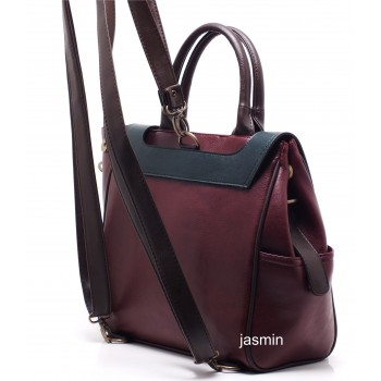 Jasmin El Omuz Sırt Bayan Çanta -JSMN-VOLX-
